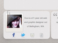 Portfolio bio preview