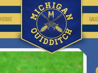 Michigan Quidditch banner
