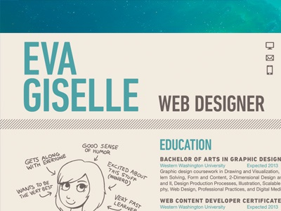 Resume resume space web design graphic design spaaace