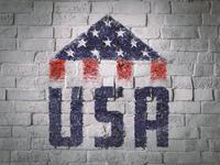 USA Folded Flag