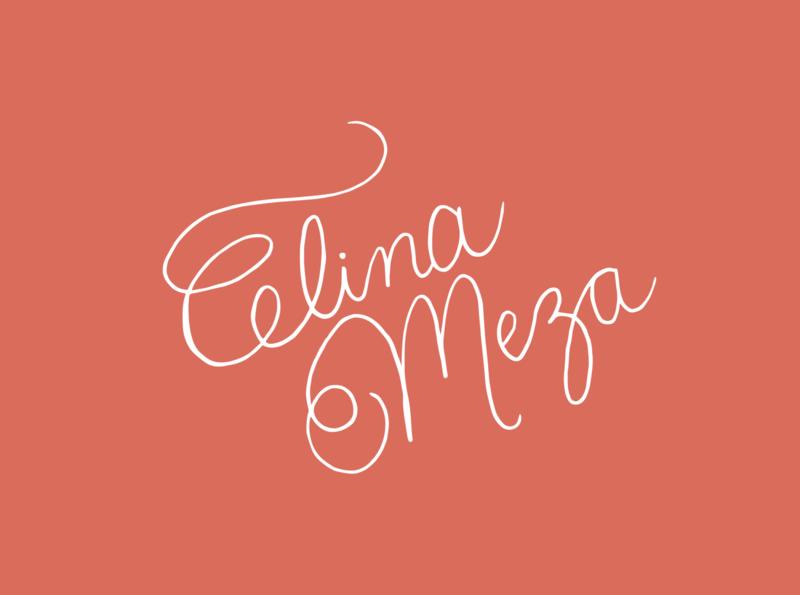Celina Meza Photography (2) linework typography design branding vector graphic design illustrator illustration