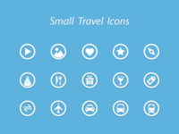 Small Travel Icons
