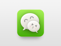 Wechat XX.OO Icon Redesign