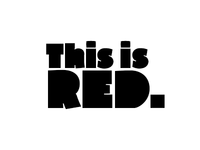 Red - new typeface