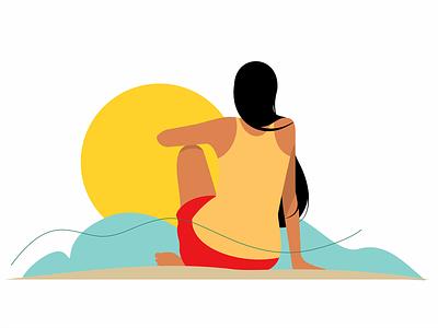 Shot #137 coreldraw minimalistic illustration vector digital