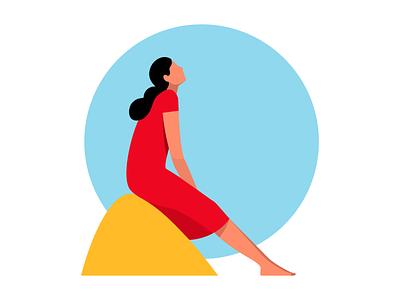140 flatcolors minimalistic illustration vector digital