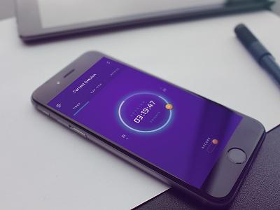 VPN iOS App app glowing bond software timer vpn