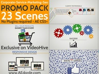 Corporacte Service Marketing Seo Promo Pack - AE project