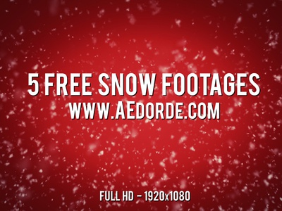 5 Free Snow Footages free freebie snow falling snow free footage footage