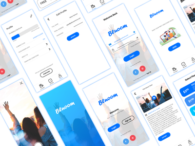 Video App - Mobile App Design design iphone application branding clean mobile app developer ux design mobile app mobile ux