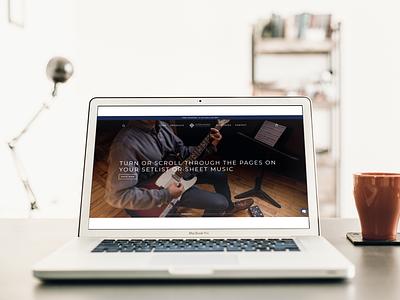 Music Web Development music aeliusventure webdesign illustrations app branding web development web clean ux