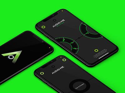 AudioME - App Design and Development mobileappdevelopment mobileappdesign iphone music app startup music clean aeliusventure graphicdesign