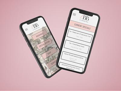 Bridal Bar Beauty beauty illustration branding startup app application mobile ui clean ux