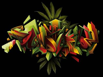 The Foundation Radio digitalart graffiti illustration graffiti art