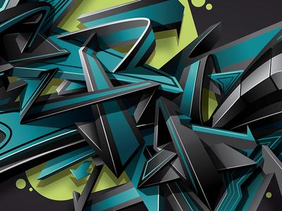 ATOS MMXX lettering art design graffiti digital graffiti vector illustration graffiti art digitalart