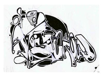 Atos - PDF Crew drawingart draw drawing letters graffiti illustration graffiti art