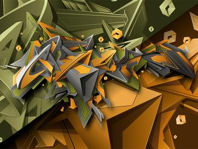 ATOS lettering art art letters design graffiti digital vector digitalart graffiti illustration graffiti art