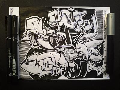 styleneedsnocolor drawingart drawing draw letter art letters graffiti illustration graffiti art
