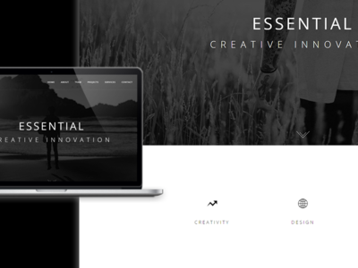 Essential - Theme Preview