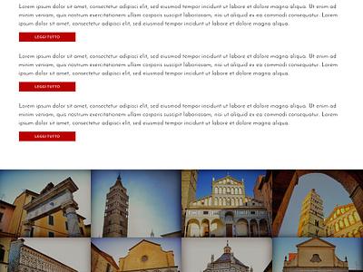 Pistoia 2017 - Homepage webdesign website web design concept template pistoia capital ui ux