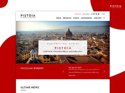 Pistoia 2017 - Homepage
