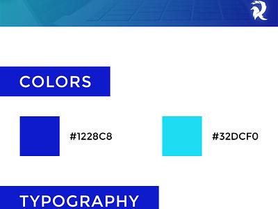 Raven Blue Themes - Logo wordpress themes blue raven flat designer logo design concept illustration identity branding and identity branding concept branding design branding logo design logo