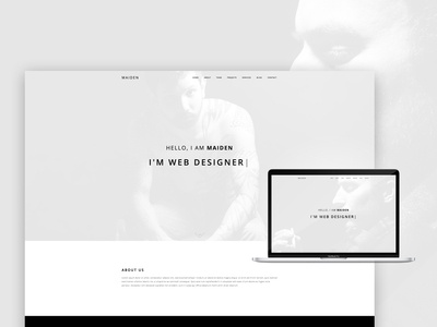 Maiden - Responsive One Page Portfolio WordPress Theme