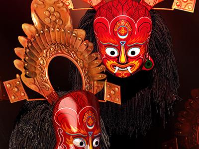 Souvenir lakhay nepal 3d