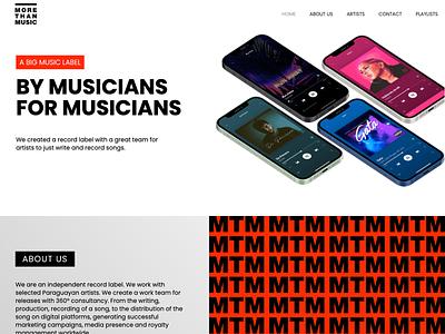 Independent Record Label Website music website web record label web mtm paraguay recording independent label music records record label
