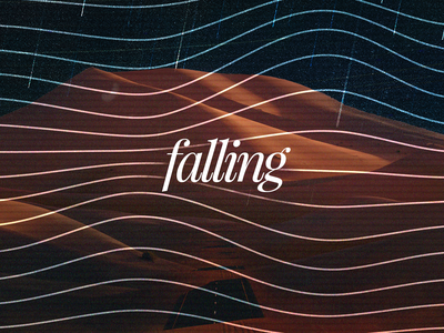 Falling - Music Cover - Concept music cover concept artworks music artwork cover
