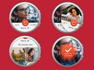 Android watch app concept wearables samsung gear watch android mobile