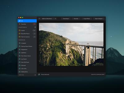Zoommy 3.0 sketch windows linux sierra photos cc0 creative commons zero electron unsplash desktop macos osx