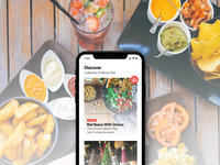 FoodCache: Discover Screen