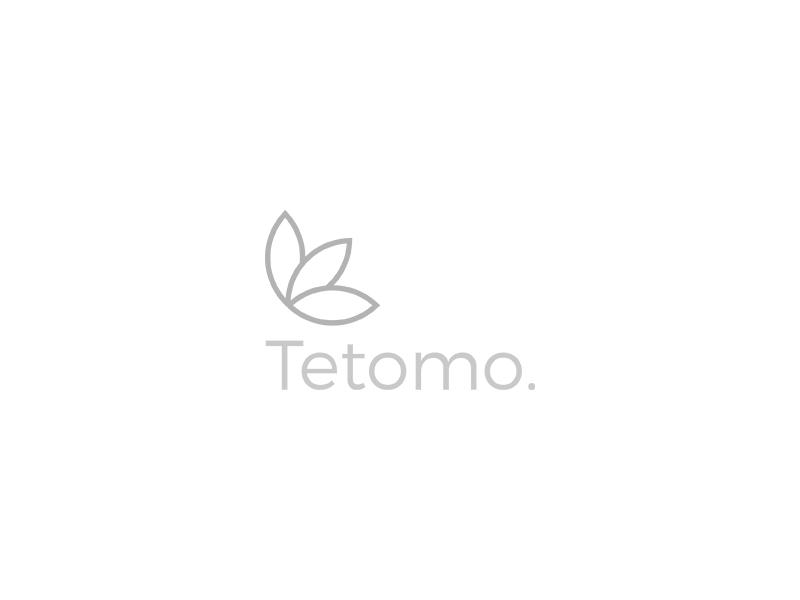 Tetomo. - Visual Identity visual identity light minimalism logo skin care skin