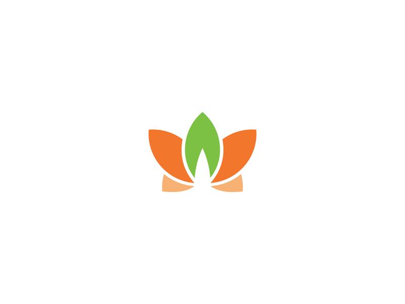 Project Lillyta visual identity logo love life peaceful organic minimalistic nonprofits leaf