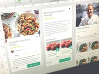 Grocery App IOS UI