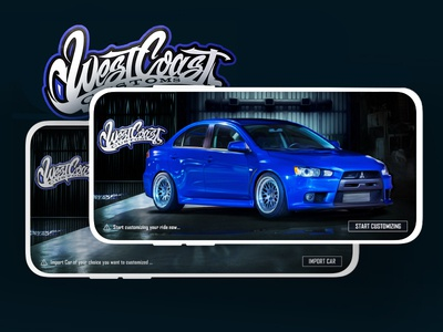 Car Customisation App - WCC