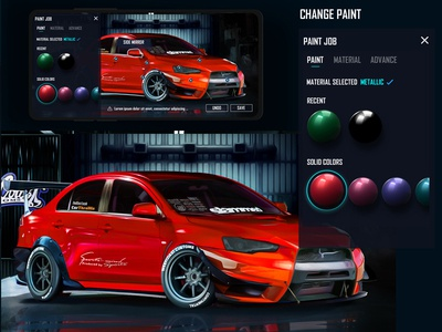 WCC Car Customisation App