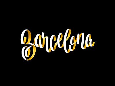 001/365_17 Barcelona procreate ipad lettrage typo type typography lettering illustration graphism