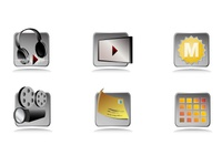 A small set of icons