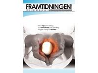 """Frontcover of """"Framtidningen"""""""