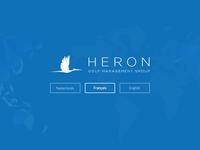 Heron - Language selection