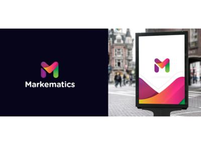 Letter M logo Symbol app icon digital design colorful vector identity branding brand logo