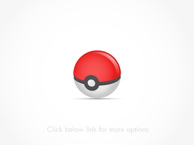 Pokemon Ball Freebie Vector pokémon go android ux ui game ball vector freebie pokemon