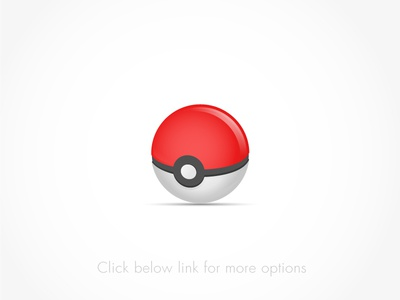 Pokemon Ball Freebie Vector