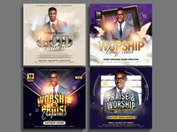 Church Flyer Template Bundle worship template sunday service social media psd print photoshop invitation instagram graphicriver gospel flyer event flyer easter church flyer church conference christian