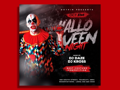 Halloween Party Flyer Template post party flyer party invitation instagram horror haunted house haunted happy halloween halloween poster halloween party halloween invitation halloween flyer halloween celebration halloween flyer template event flyer dark club flyer