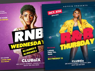 Night Club Flyer Bundle Template vip lounge