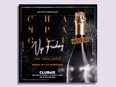 Night Club Flyer Template summer flyer