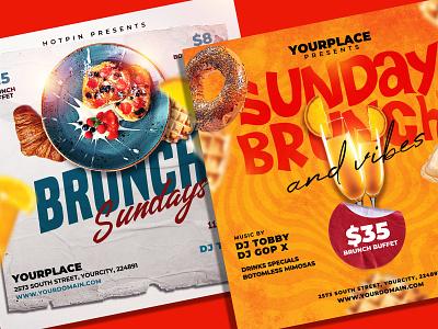 Brunch Flyer Bundle post